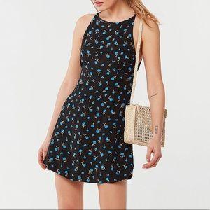 NWT UO - Floral Print Mini Dress